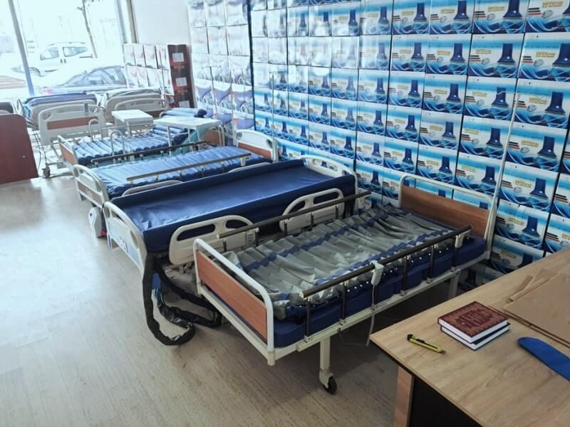 Motorlu hasta yatakları ve havalı yataklar