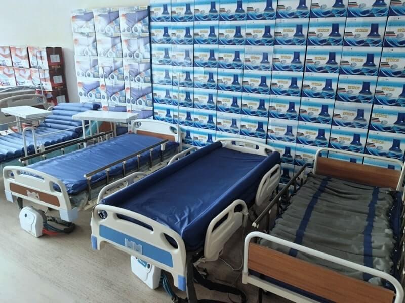 Terleme önleyici havalı hasta yatakları