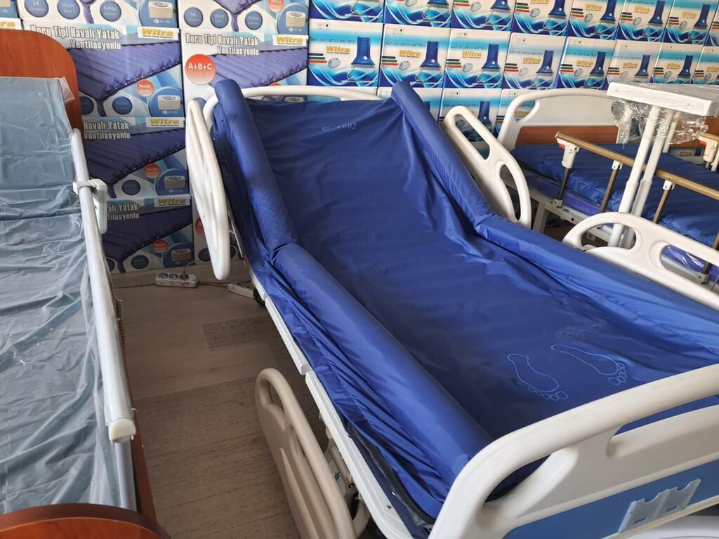 Yüksek kilolu hastalar için yataklar