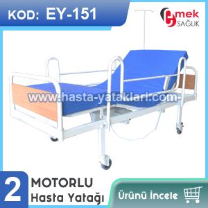 2 motorlu hasta yatağı EY-151