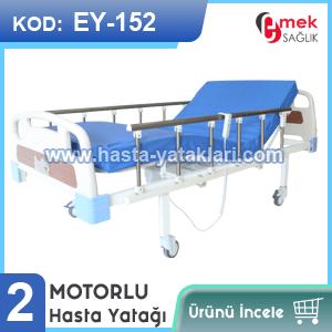 2 motorlu hasta yatağı EY-152