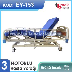 3 motorlu hasta yatağı EY-153