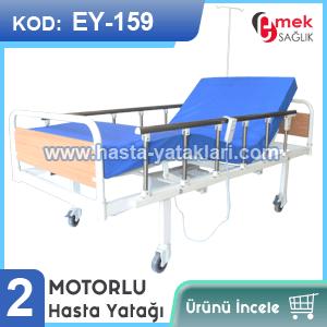 2 motorlu hasta yatağı EY-159