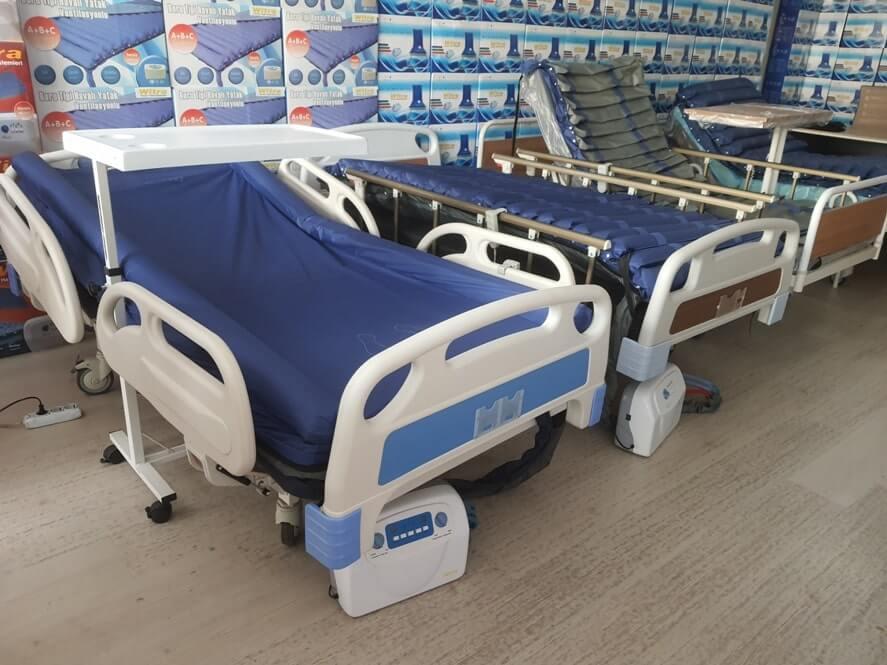 Hasta yatağı ve havalı yataklar
