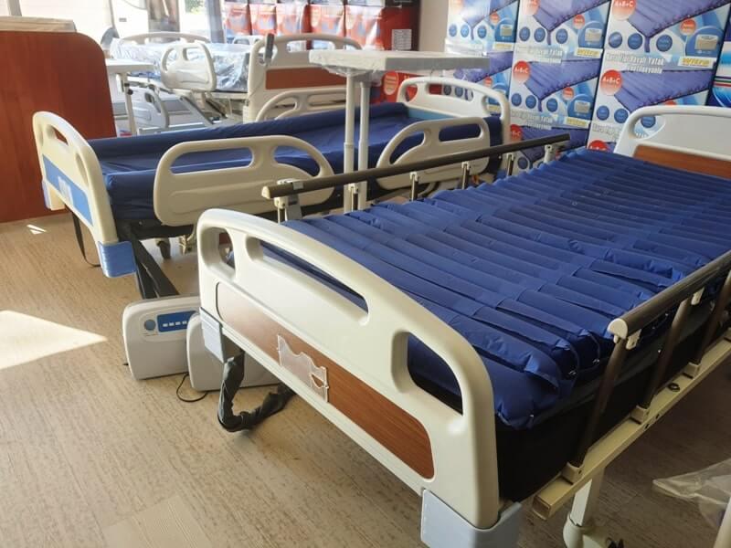 Hastane tipi yataklar